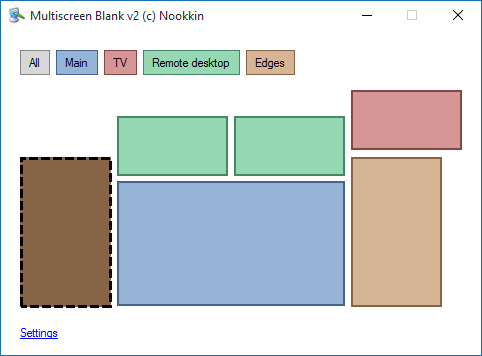 Main MultiscreenBlank window
